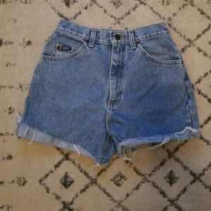 LEE Vintage Hight Waisted Jean Shorts